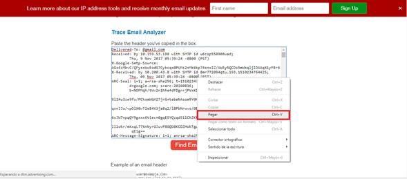 ¿Cómo se puede rastrear un correo electrónico?